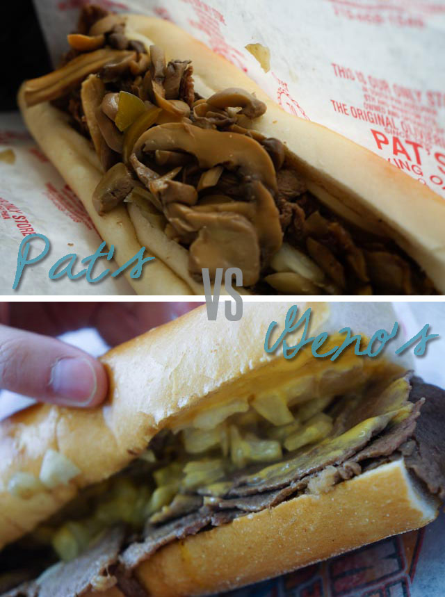 Pat's vs. Geno's Cheesesteaks