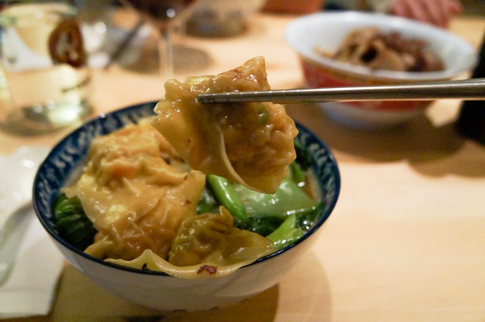 how to make chicken wontons for soup