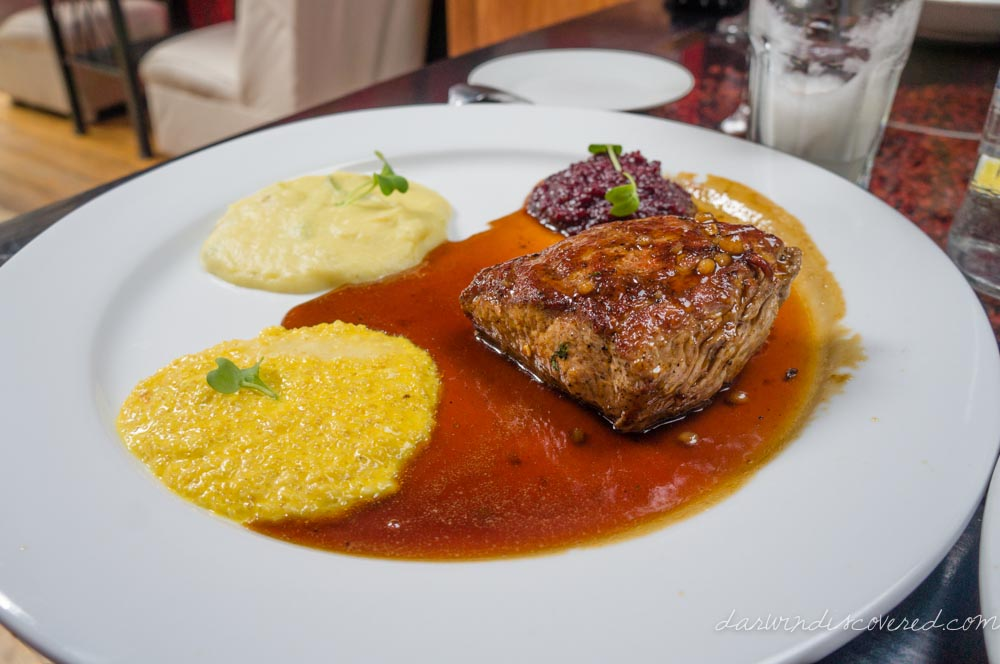 Alpaca Steak at Marcelo Batata in Cusco, Peru