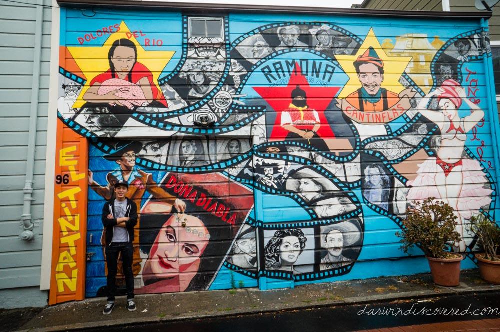 Murals, San Francisco Balmy Alley