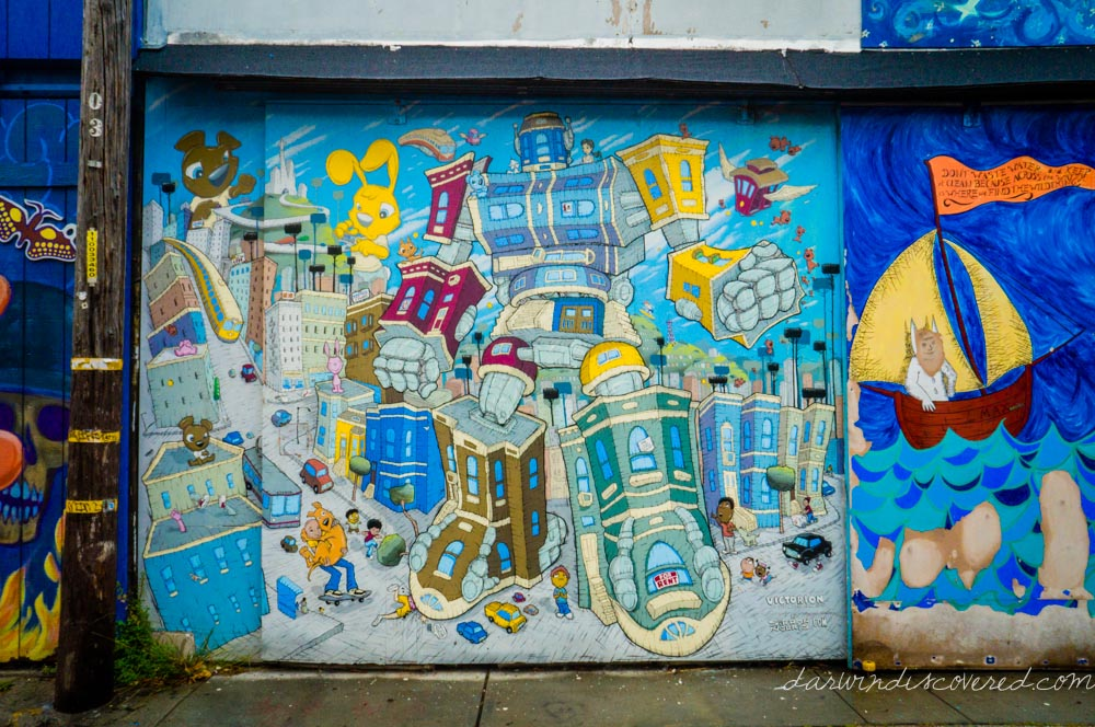 Murals, San Francisco Balmy Alley