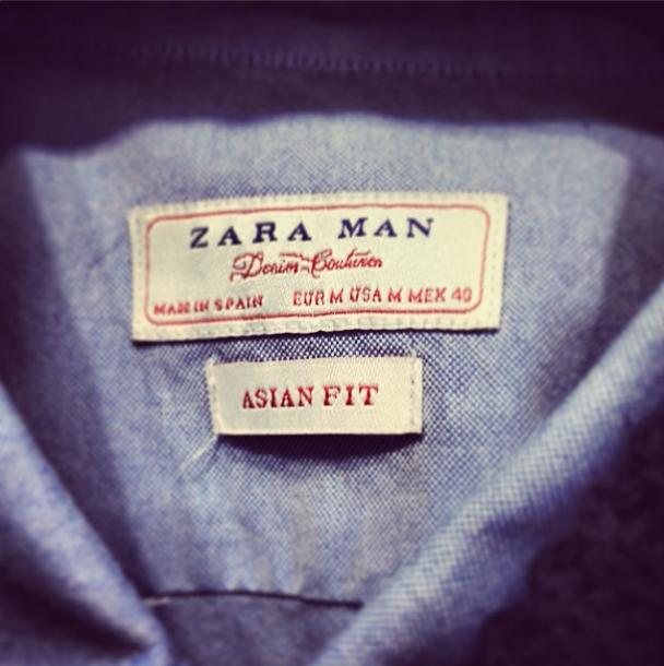 Zara Asian Fit, Tokyo, Japan