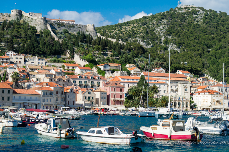 hvar and the palenki islands, croatia