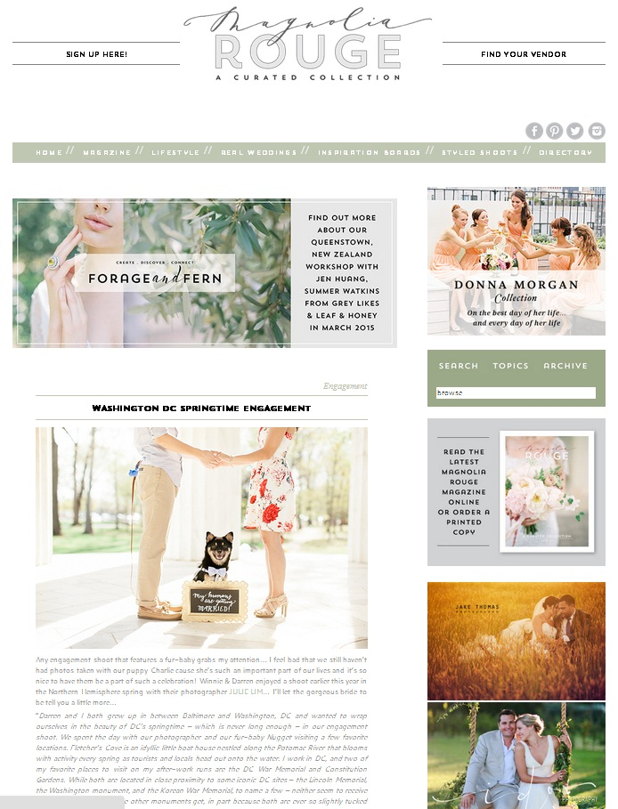 Featured On: Magnolia Rouge